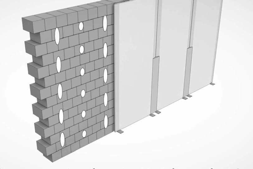 Отделка стен гипсокартоном без каркаса и профиля (видео)