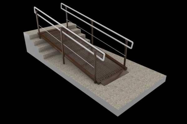 Устройство пандуса. делаем заезд из бетона своими руками.