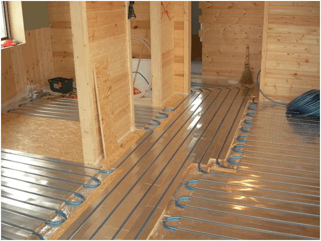 Водяной теплый пол в деревянном доме и с деревянными перекрытиями
