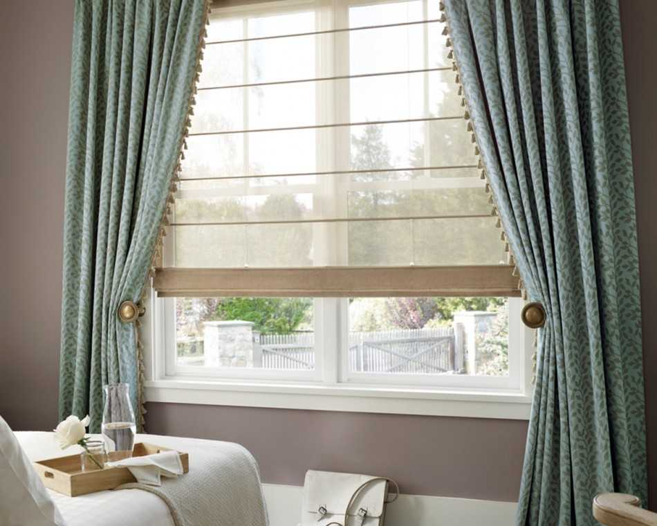 Шторы в стиле модерн: минимализм, арт деко, в интерьере гостиной, в спальни, на кухни и зала