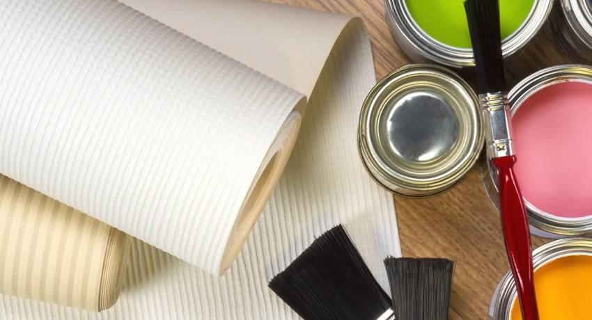Краска для обоев под покраску: виды, цена, расход , отзывы потребителей