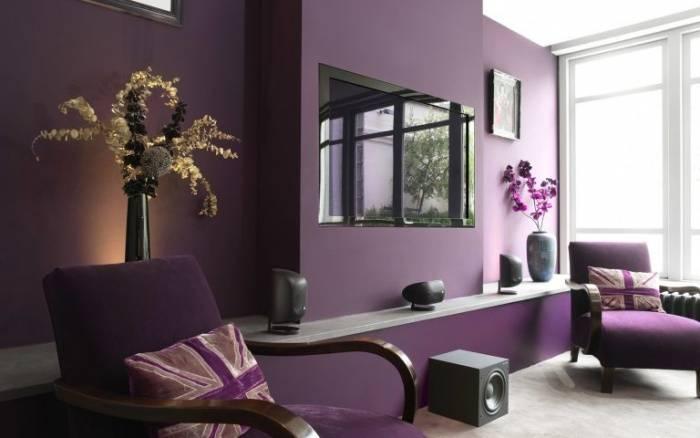 Спальня в лиловых тонах: значение цвета, особенности дизайна спальни в лиловых тонах с фото.