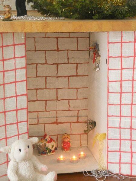 Камин своими руками из картона - пошаговая инструкция. декоративный фальш камин.