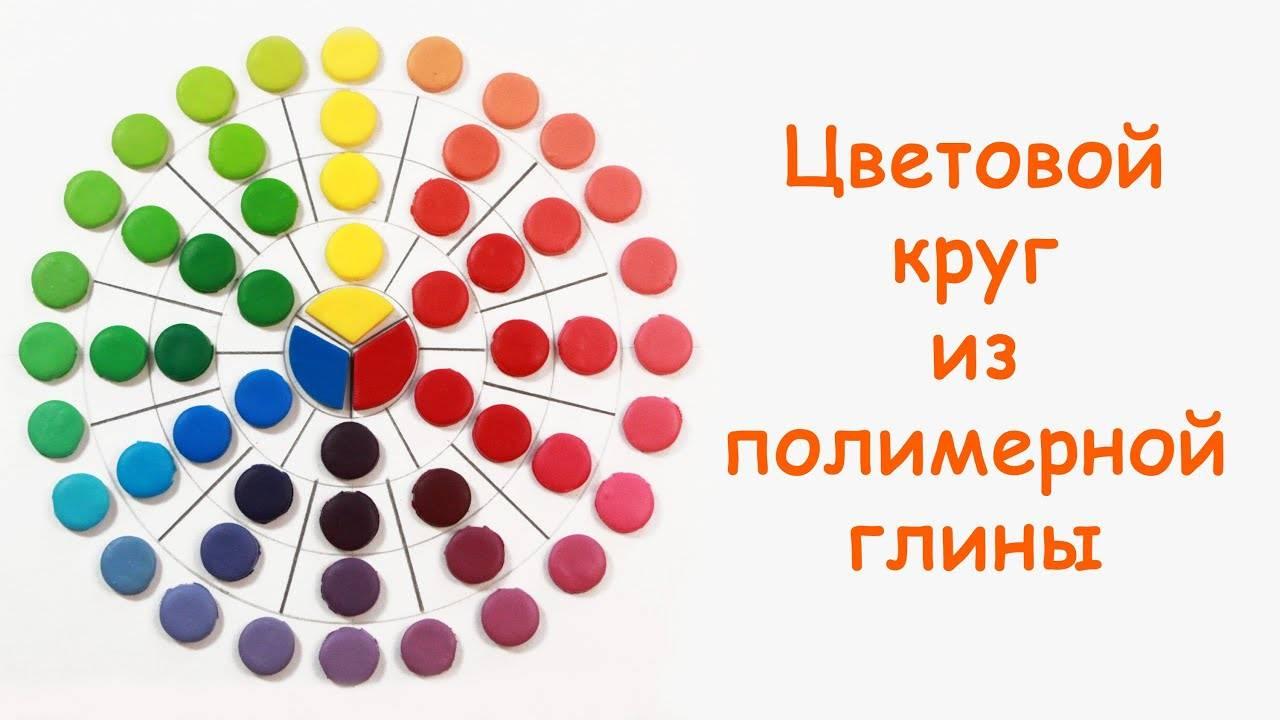 Таблица смешивания цветов краски