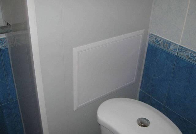 Как закрыть трубы в туалете пластиковыми панелями – пошаговое руководство