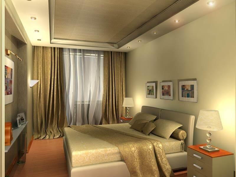 Какой может быть спальня в хрущевке, интерьер фото хороших идей