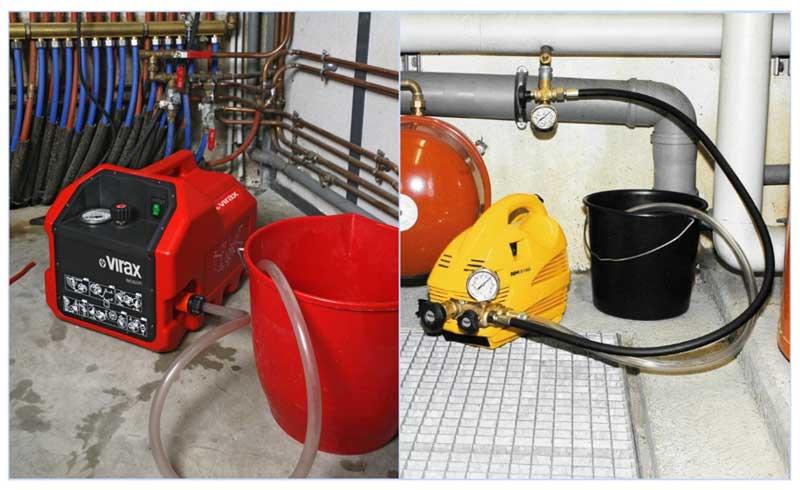 Гидропневматическая  промывка систем отопления, инструкция | отопление дома и квартиры