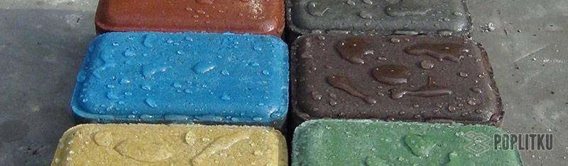 Лак для искусственного камня с эффектом мокрого камня