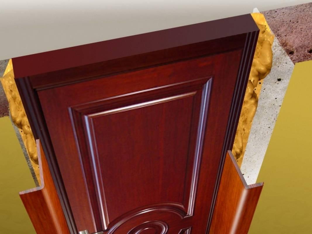 Обивка металлических дверей – подробный разбор самых популярных вариантов