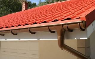 Как установить водостоки если крыша уже покрыта - клуб мастеров