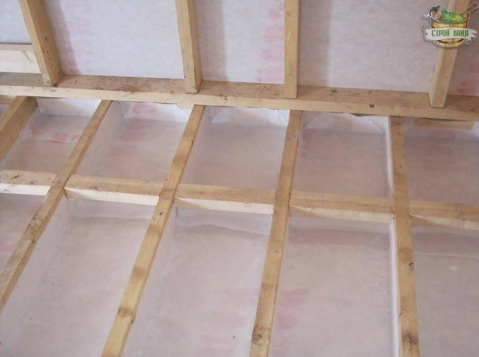 Пол в каркасном доме: поэтапно - ремонт и дизайн