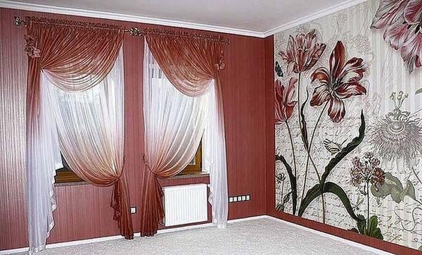 Подо что подбирать цвет штор?
