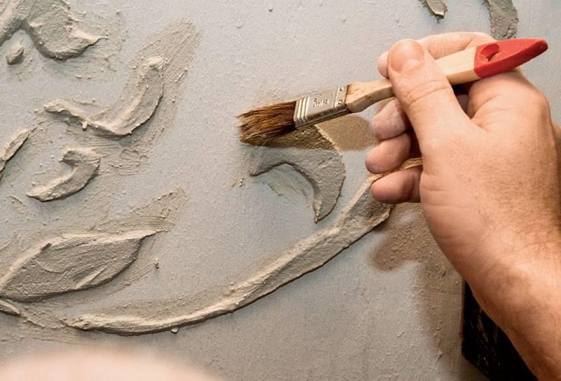 Декоративная шпаклевка – этапы нанесения и техника создания разных фактур - 11 фото