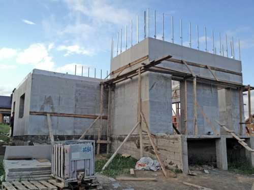 Этапы строительства монолитного многоэтажного дома