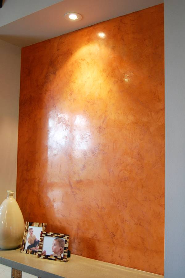 Декоративная штукатурка арт бетон в стиле лофт: виды, нанесение, окраска