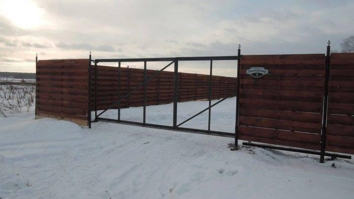 Выбираем фундамент для откатных ворот, делаем правильное основание, советы строителей