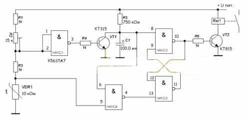 Подключение терморегулятора к котлу