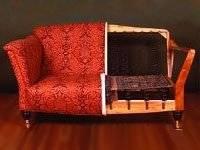 Как отремонтировать кожаный диван и убрать царапины своими руками