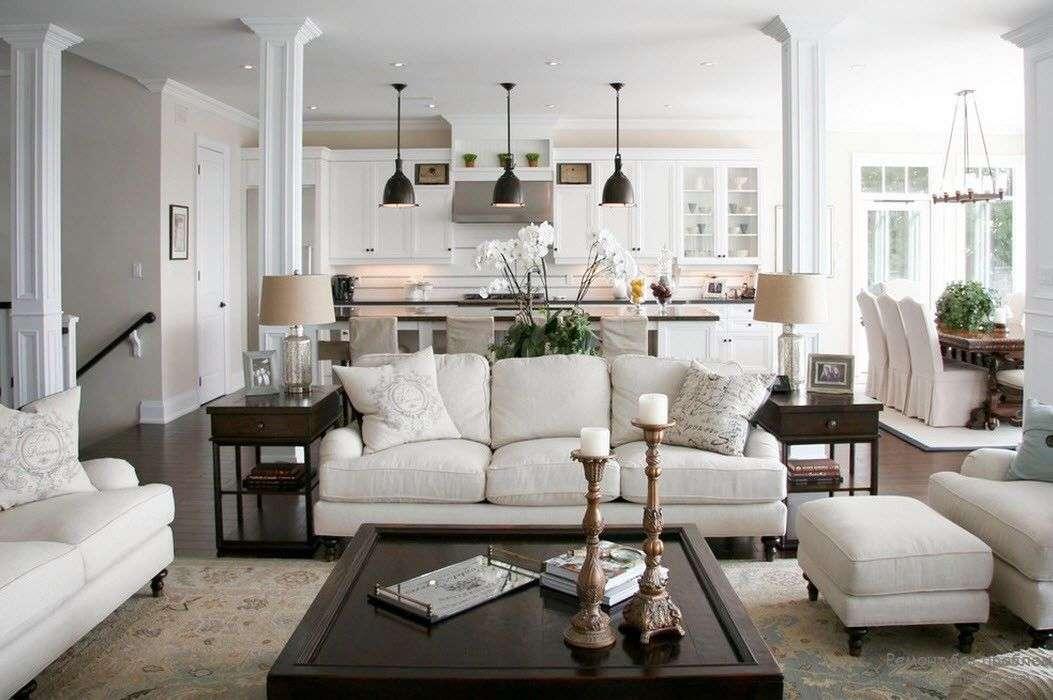 Белая гостиная — фото лучших идей в интерьере гостиной.