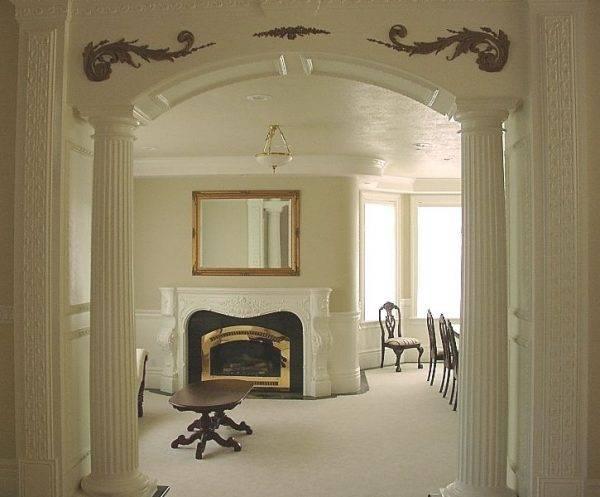 Декоративные гипсокартонные конструкции в квартире