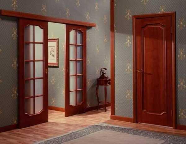 Механизм для раздвижных дверей: роликовый для межкомнатных проемов, фото, монтаж своими руками