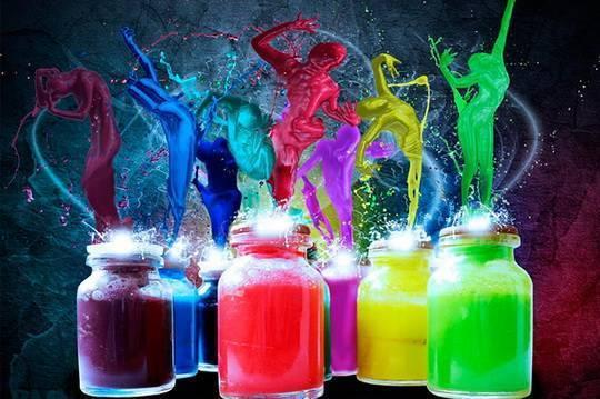 Как сделать светящуюся краску?. светящаяся краска своими руками. как сделать светящуюся краску в домашних условиях?