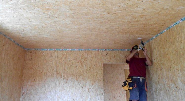 Чем отделать потолок в деревянном доме – варианты отделки