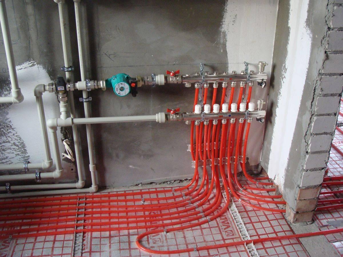Насосно-смесительные узлы для теплого пола - купить узлы для водяного теплого пола