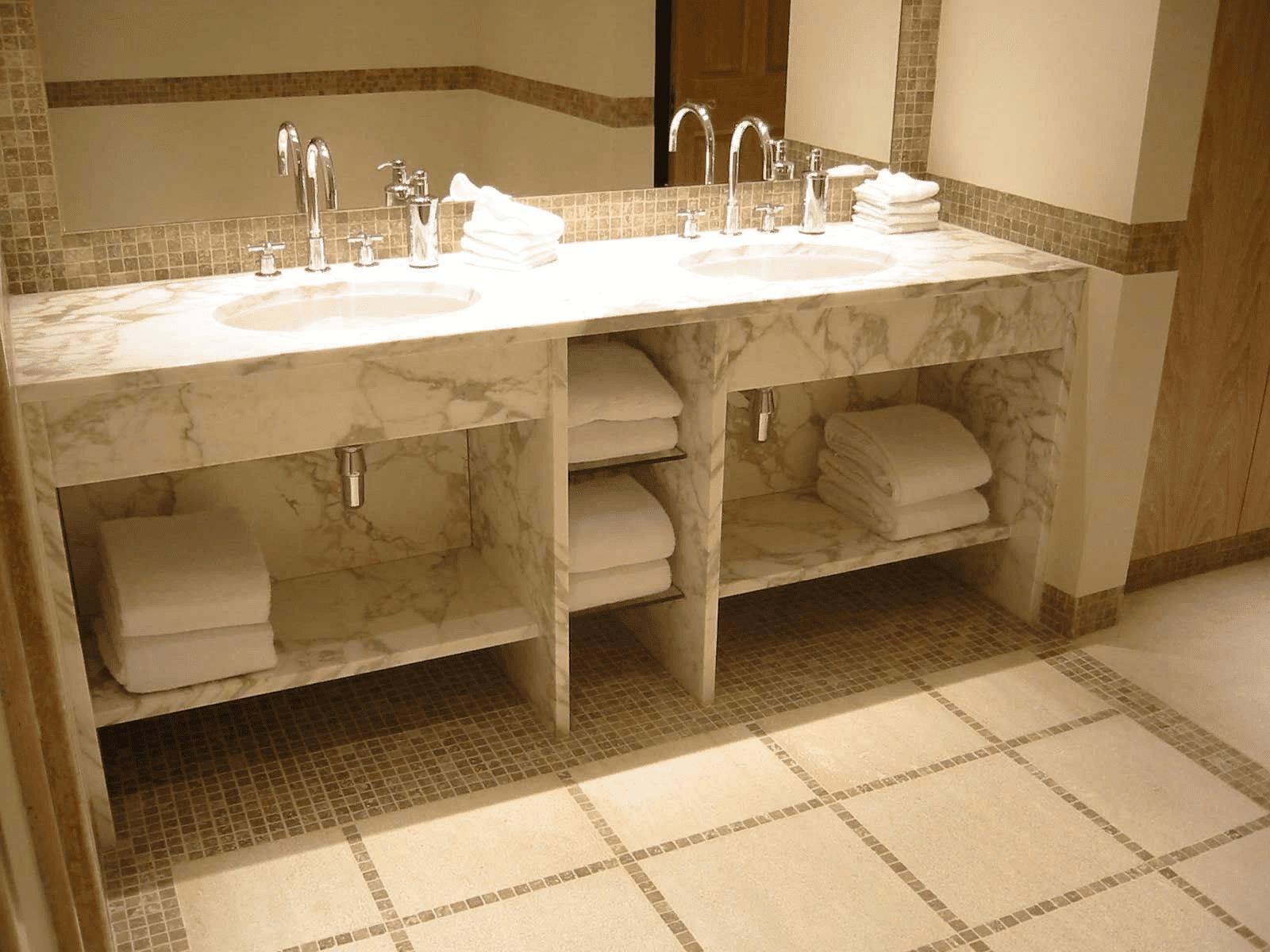 Столешница под раковину в ванную своими руками: из дерева, гипсокартона, искусственного камня