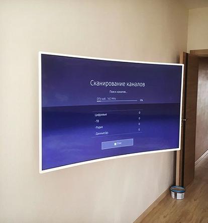 Крепление для телевизора на стену: виды кронштейнов и монтаж