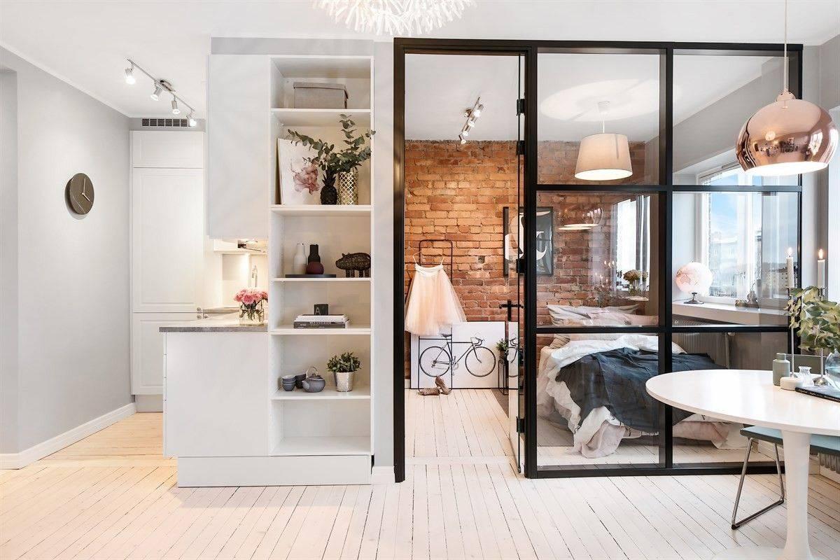 Однокомнатная квартира площадью 40 квадратных метров