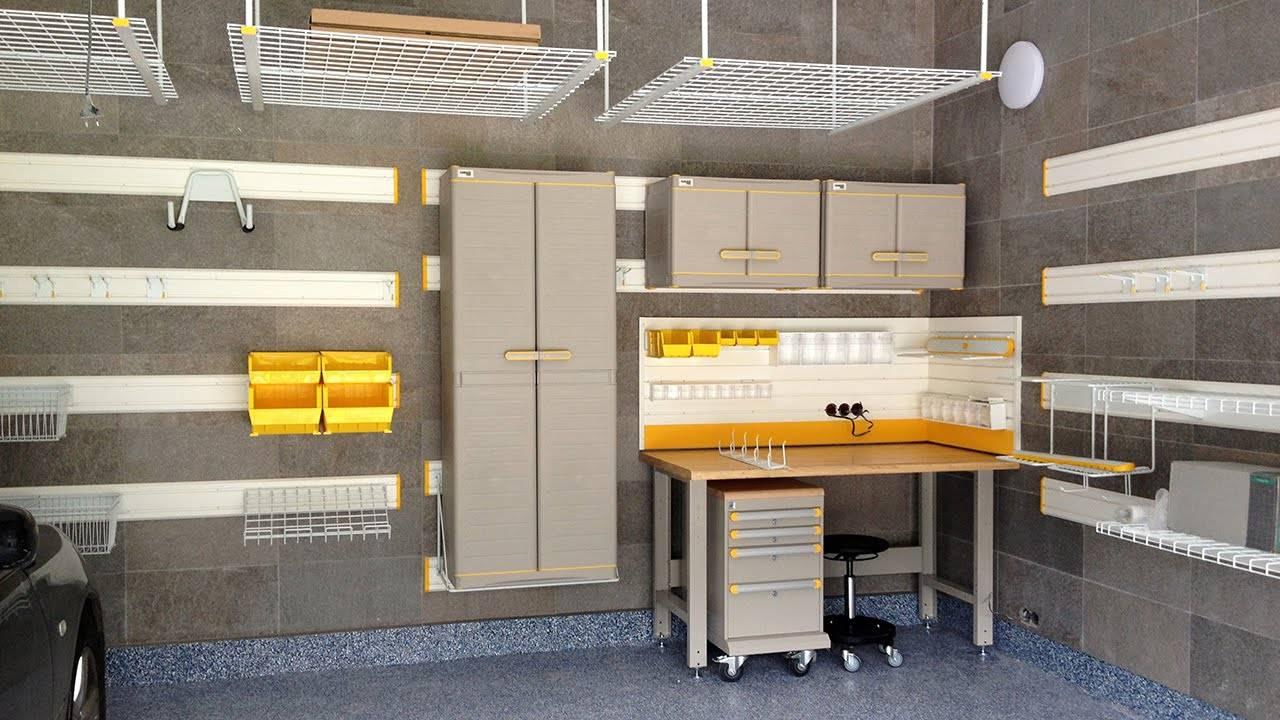 Выбор систем хранения для гаража