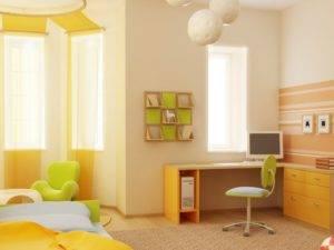 Варианты покраски стен в детской: 30 живых примеров
