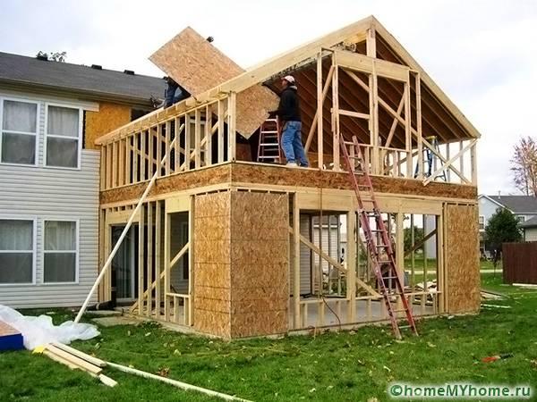 """Каркасная пристройка к дому: какой сделать стеновой """"пирог"""" и как узаконить постройку"""