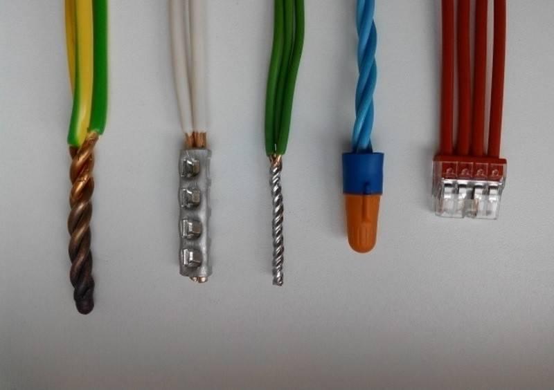 Расключение кабеля это