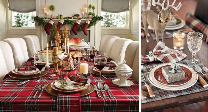 Сервировка новогоднего стола, пошаговая инструкция (фото)