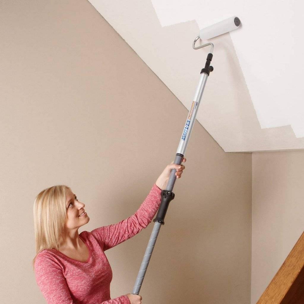 Как правильно красить потолок: необходимые материалы    в мире краски