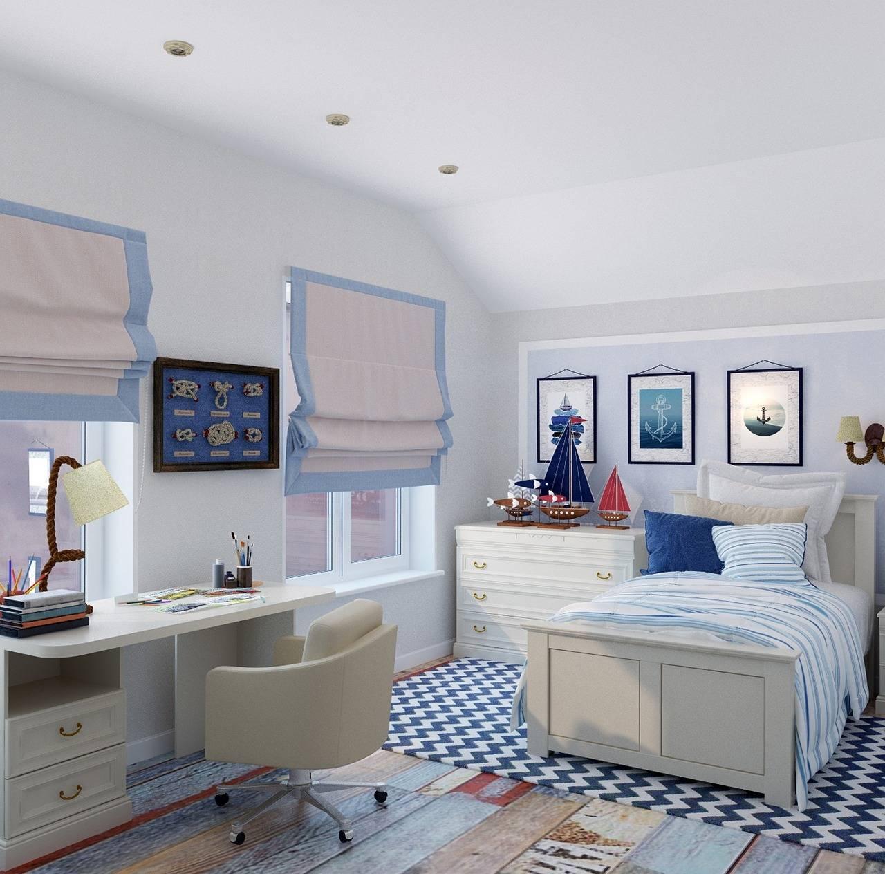 Детские спальни для мальчиков (86 фото): дизайн интерьера для 7-9 лет, идеи для школьника