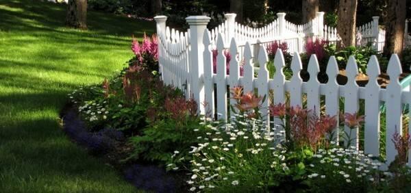 Как сделать забор для палисадника своими руками