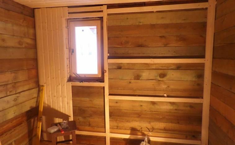 Отделка стен вагонкой - фото вариантов, а так же утеплитель стен, инструкция по выполнению работ своими руками и видео процесса