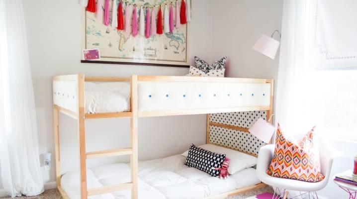 Двухъярусные кровати для девочек: виды и правила выбора