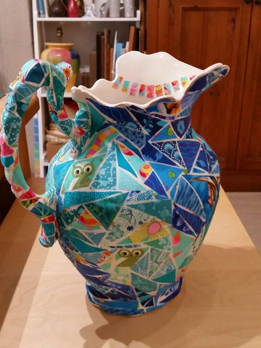 Декор вазы своими руками: идеи и советы по изготовлению