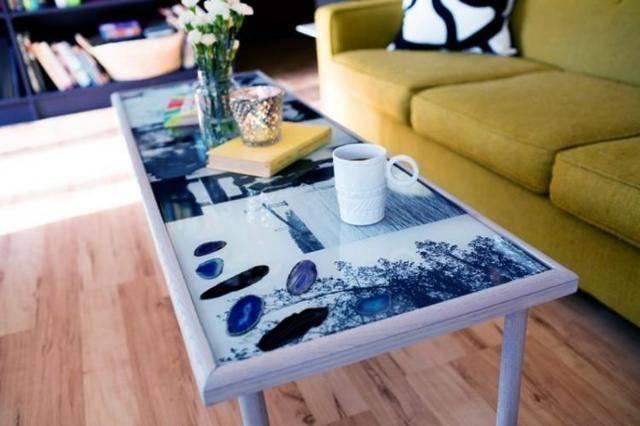 Декор стола своими руками – 2 мастер-класса