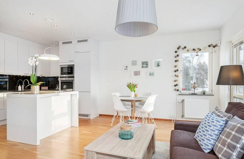 Дизайн маленькой кухни гостиной — как совместить кухню гостиную на небольшой площади