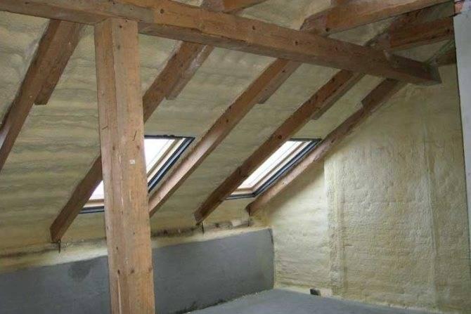 Утепление потолка в частном доме своими руками: только эффективные способы!