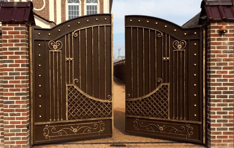 Откатные ворота: преимущества и недостатки