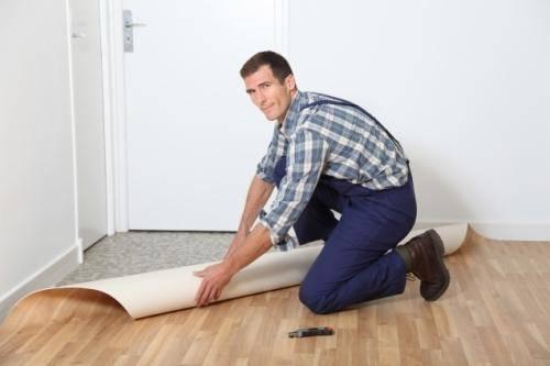 Как стелить линолеум: технология правильной укладки линолеума на деревянный и бетонный пол