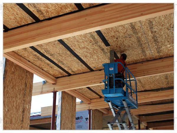 Подшивка потолка осб плитой: технология, выбор типа, дизайн