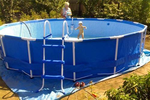 Бассейн на даче своими руками - пошаговая инструкция с фото, видео бассейн на даче своими руками - пошаговая инструкция с фото, видео