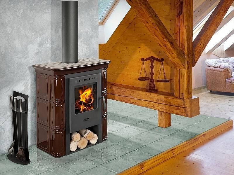 Печь камин длительного горения для дачи: на дровах угле брикетах + фото - видео